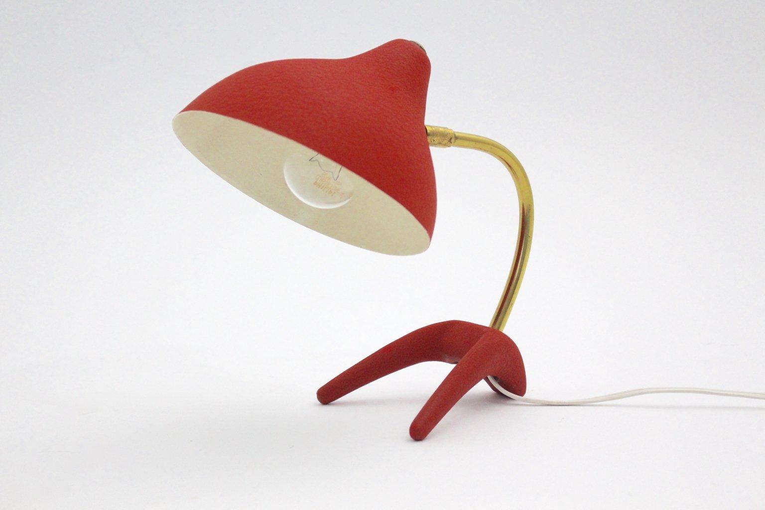 lampe de bureau mid century moderne par louis kalff pour philips 1950s en vente sur pamono. Black Bedroom Furniture Sets. Home Design Ideas