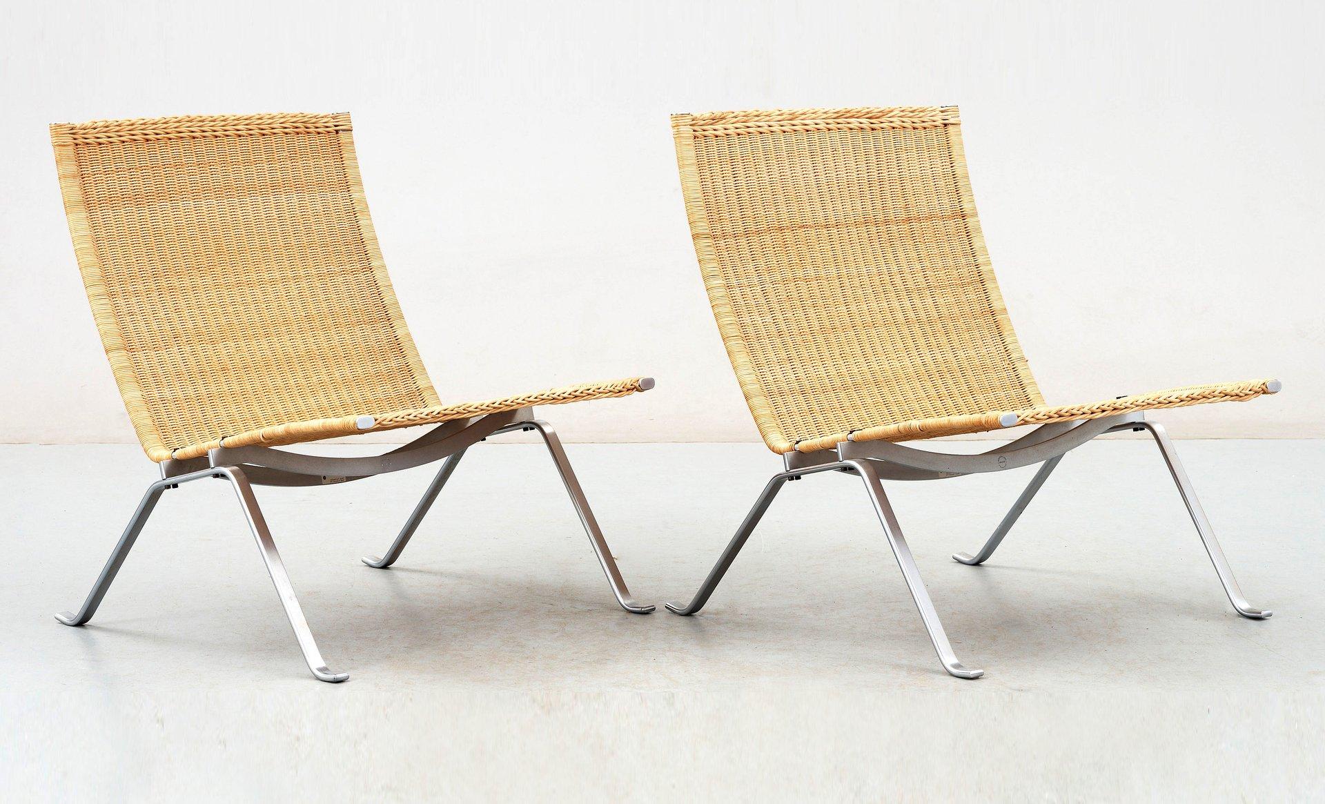 Vintage PK-22 Sessel von Poul Kjærholm für E. Kold Christensen und Fri...
