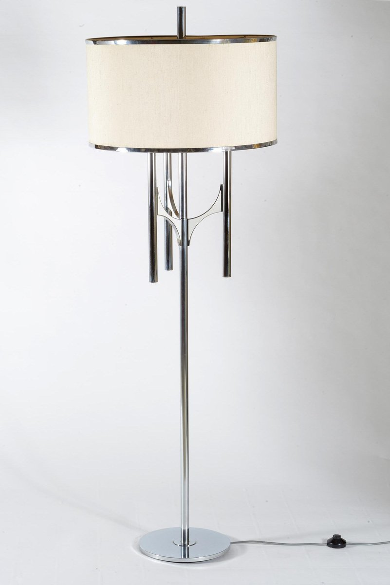 Italienische Stehlampe von Gaetano Sciolari, 1970er