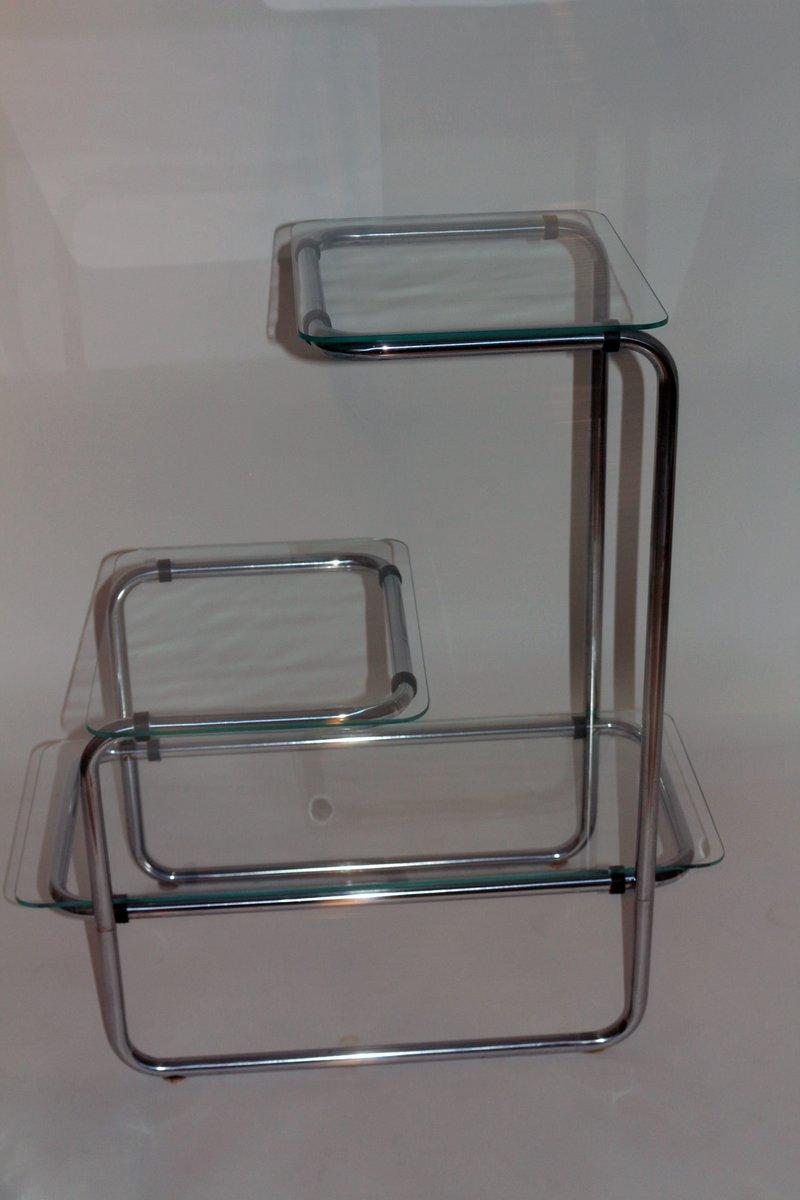 b136 stahlrohr regal von a guyot f r thonet 1930er bei pamono kaufen. Black Bedroom Furniture Sets. Home Design Ideas