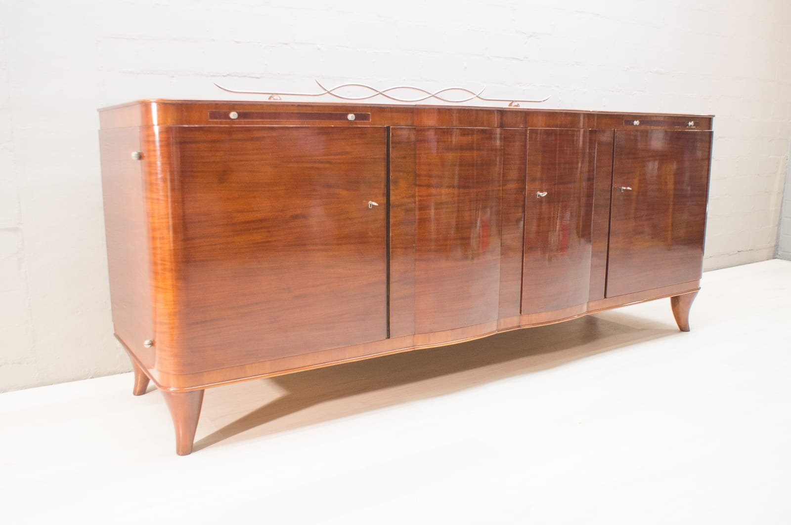 Art Deco Sideboard Amp Buffet Set 1930s For Sale At Pamono