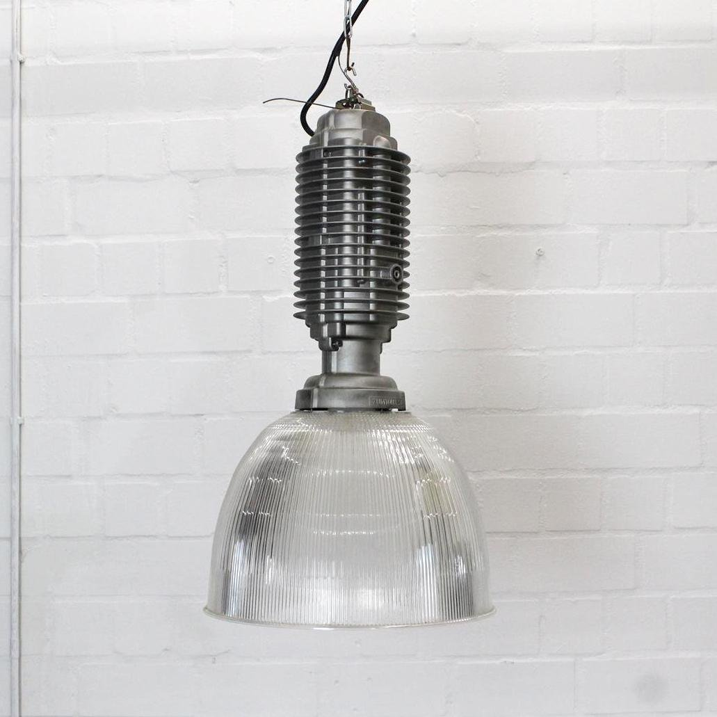 Industrielle Vintage Lampe von Zumtobel