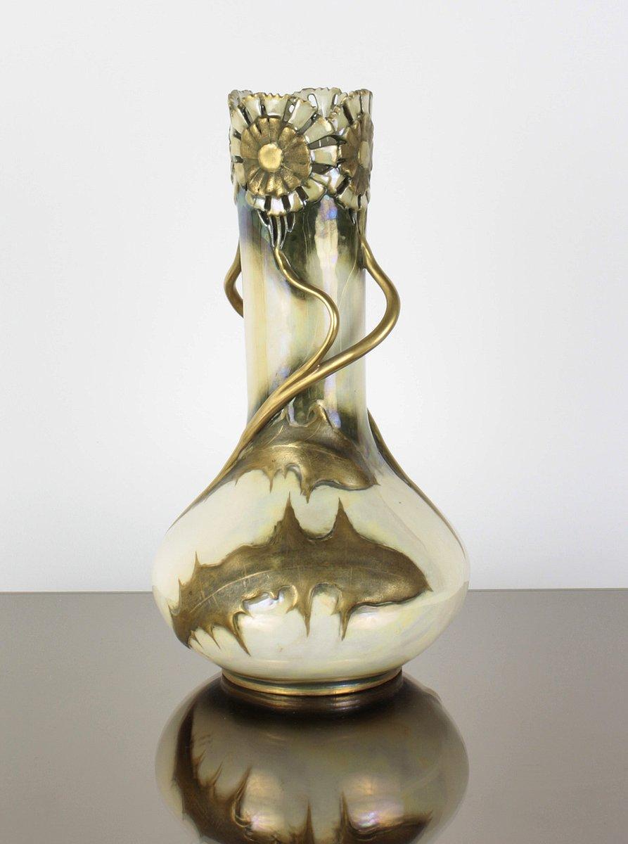 No. 497 Jugendstil Vase von Amphora, 1900er