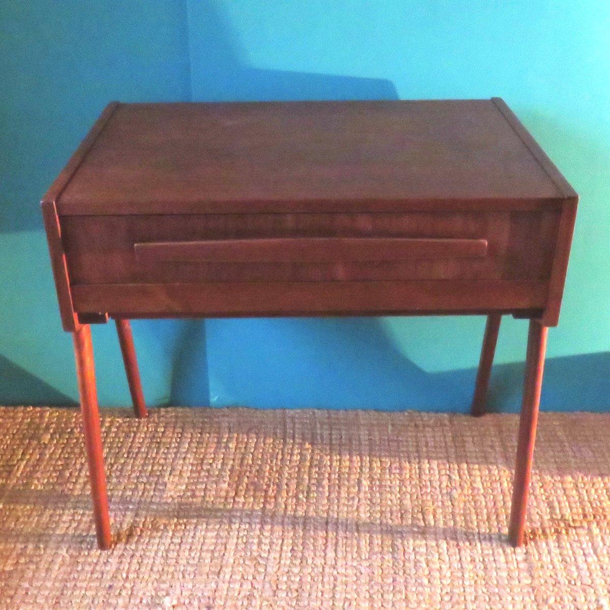 table de couture en teck danemark 1935 en vente sur pamono. Black Bedroom Furniture Sets. Home Design Ideas