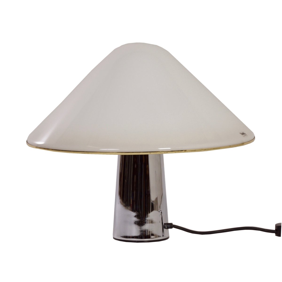 White Mushroom Lamp By Guzzini 1970s For Sale At Pamono