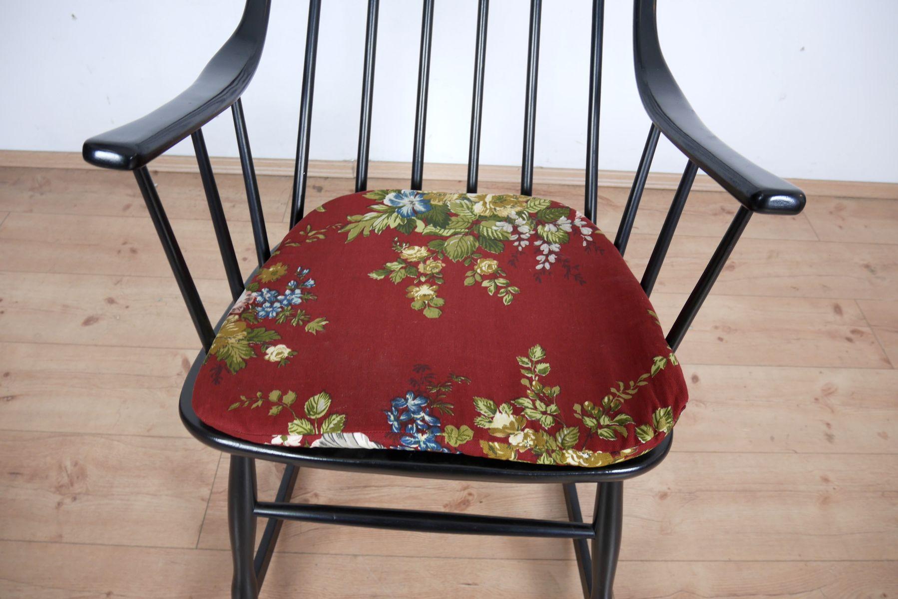 schaukelstuhl von lena larsson f r nesto 1960er bei pamono kaufen. Black Bedroom Furniture Sets. Home Design Ideas