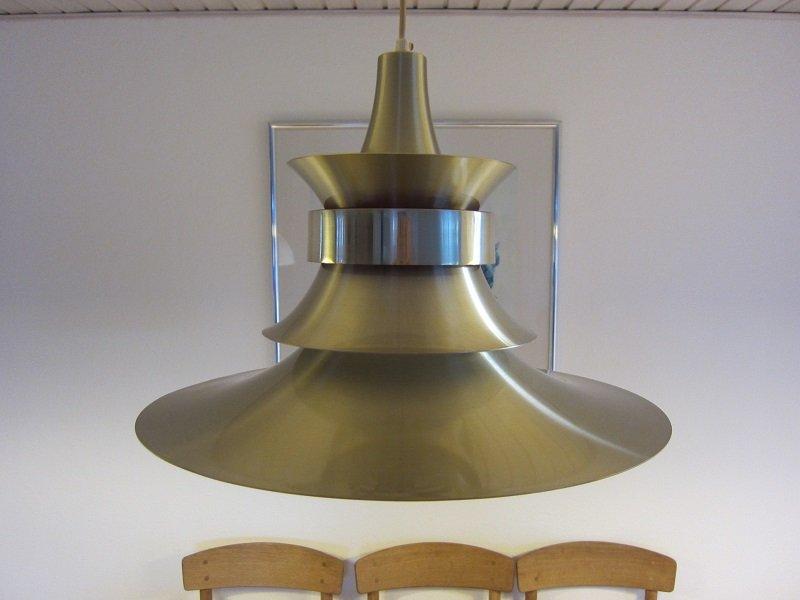Dänische Mid-Century Deckenlampe von Bent Nordsted für Lyskaer
