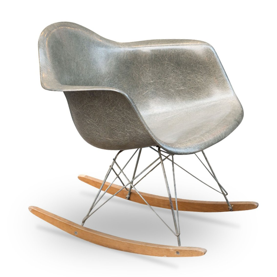 Vintage Rocking Chair By Charles Ray Eames For Herman