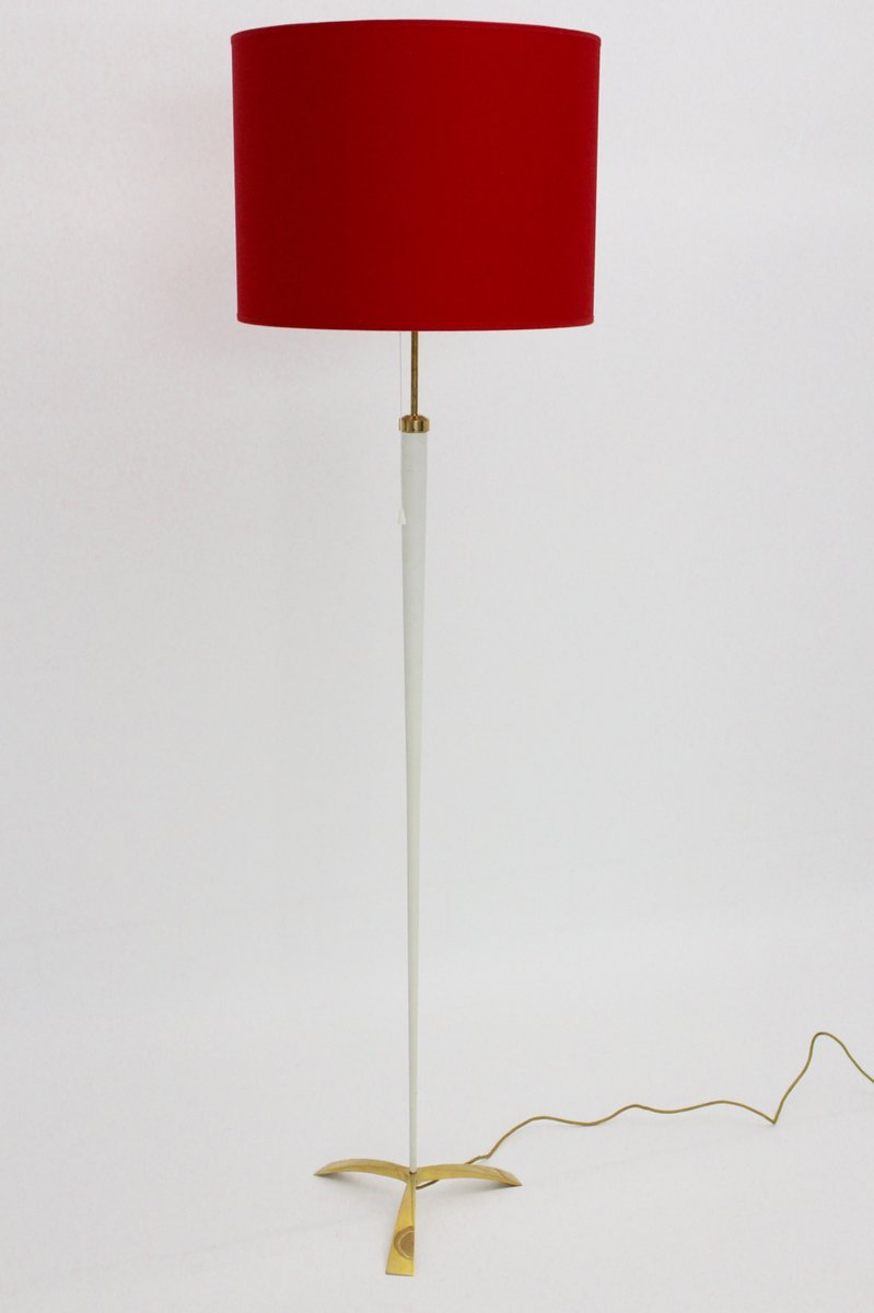 mid century modern floor lamp by jt kalmar 1950s - Mid Century Modern Floor Lamp
