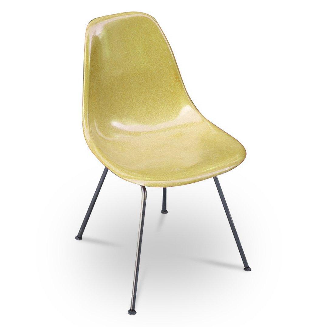 dsx stuhl von charles ray eames f r herman miller 1950er bei pamono kaufen. Black Bedroom Furniture Sets. Home Design Ideas