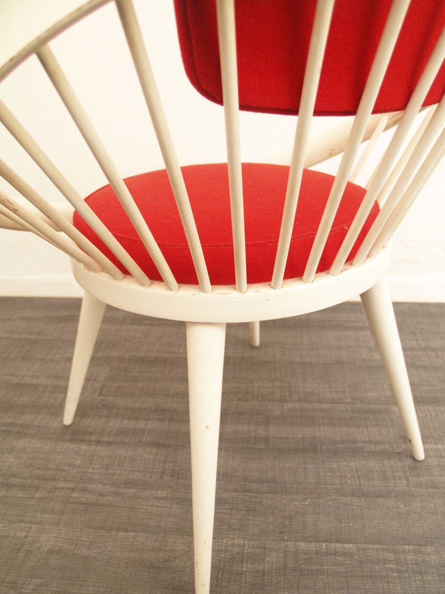 chaise d 39 appoint par yngve ekstr m pour swedese 1960s en. Black Bedroom Furniture Sets. Home Design Ideas
