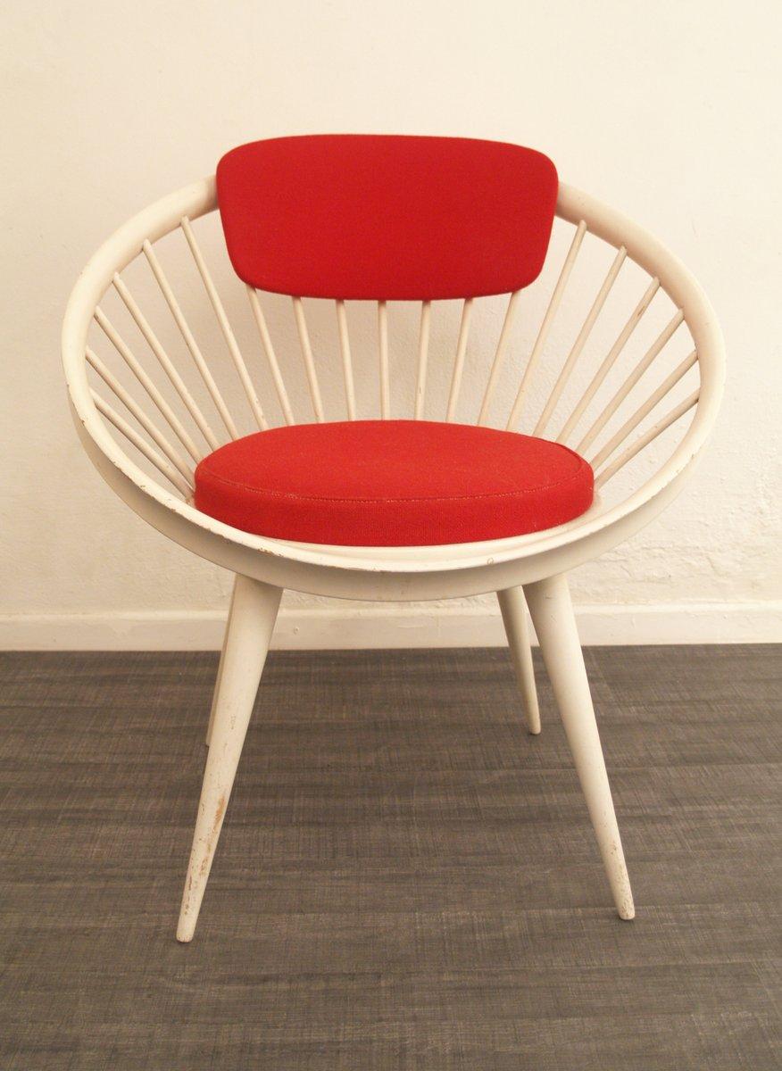 chaise d 39 appoint par yngve ekstr m pour swedese 1960s en vente sur pamono. Black Bedroom Furniture Sets. Home Design Ideas