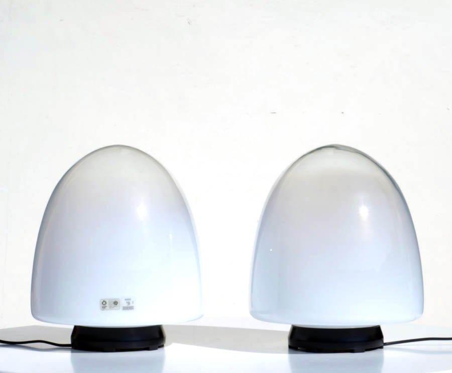 Italienische EBE 34 Murano Glas Tischlampen von Giusto Toso für Leucos...