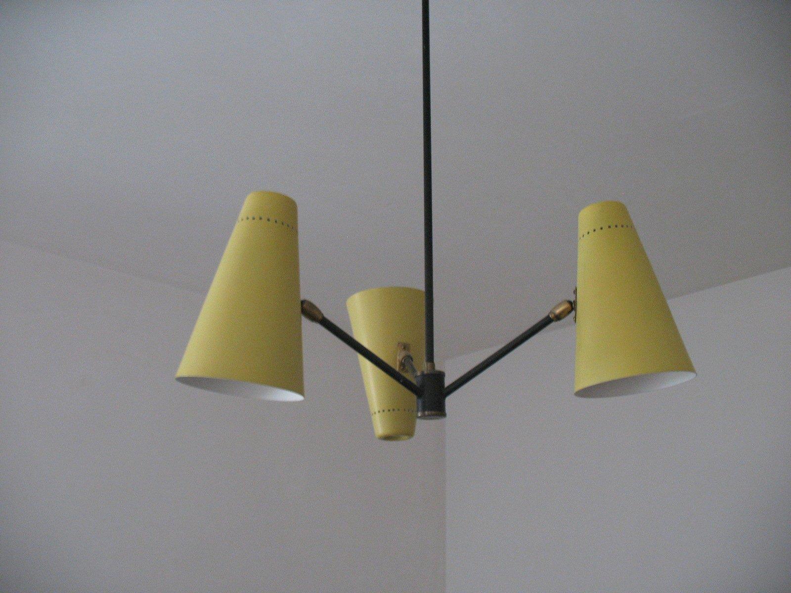 Deckenlampe von Fog & Mørup, 1950er
