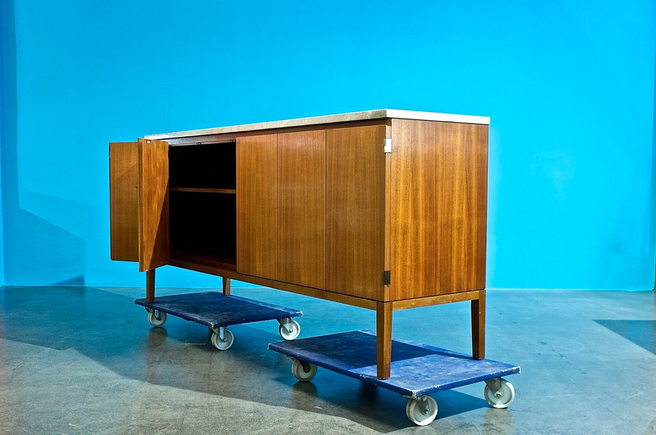 vintage credenza by paul mccobb for wk m bel for sale at. Black Bedroom Furniture Sets. Home Design Ideas