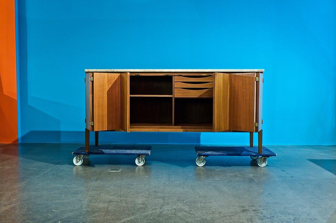 vintage credenza by paul mccobb for wk m bel for sale at. Black Bedroom Furniture Sets. Home Design Ideas