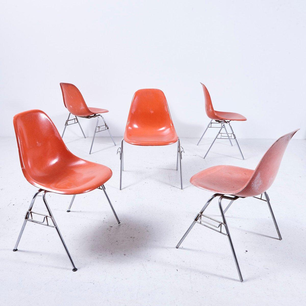 Sedia Dss N Di Charles Ray Eames Per Herman Miller Anni
