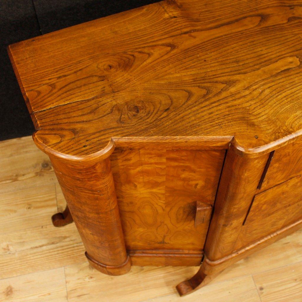 enfilade art d co mid century en bois france en vente sur pamono. Black Bedroom Furniture Sets. Home Design Ideas