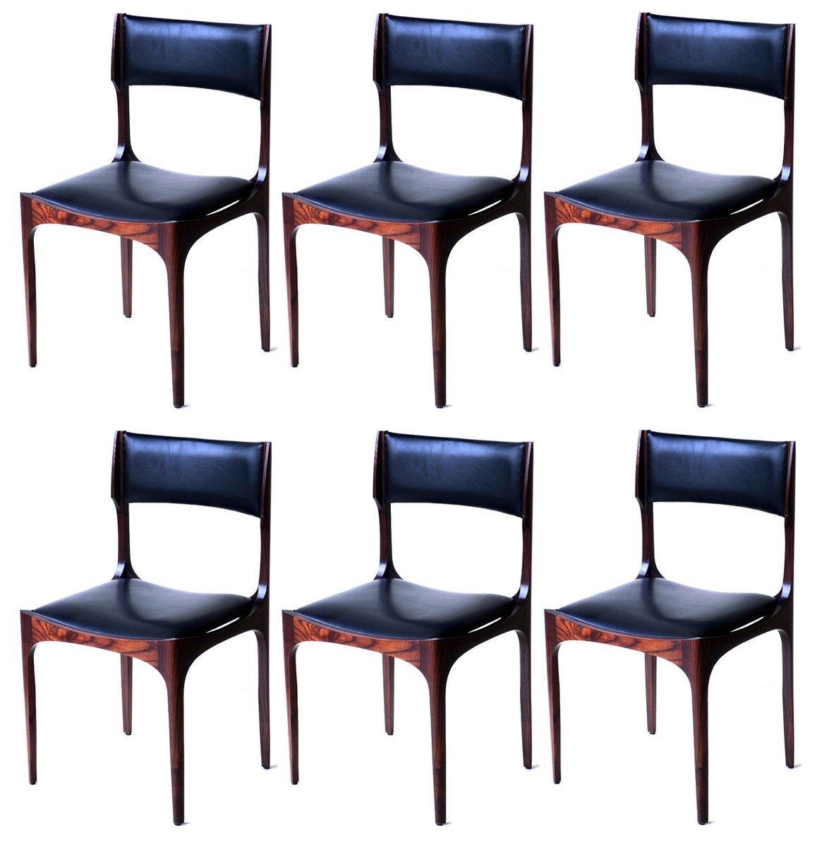 st hle von giuseppe gibelli f r sormani 1960er 6er set bei pamono kaufen. Black Bedroom Furniture Sets. Home Design Ideas