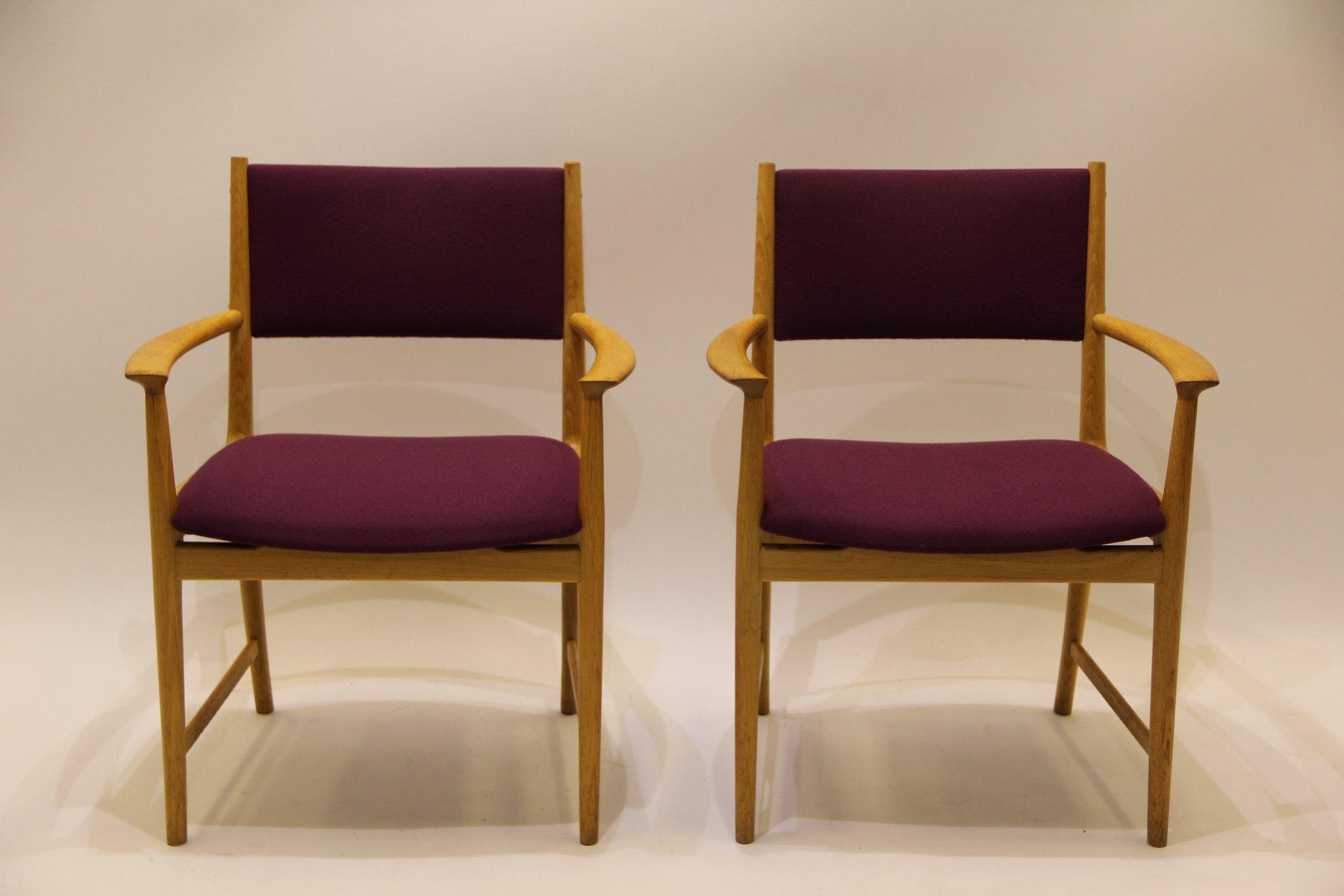 d nischer mid century stuhl aus eschenholz von kai. Black Bedroom Furniture Sets. Home Design Ideas