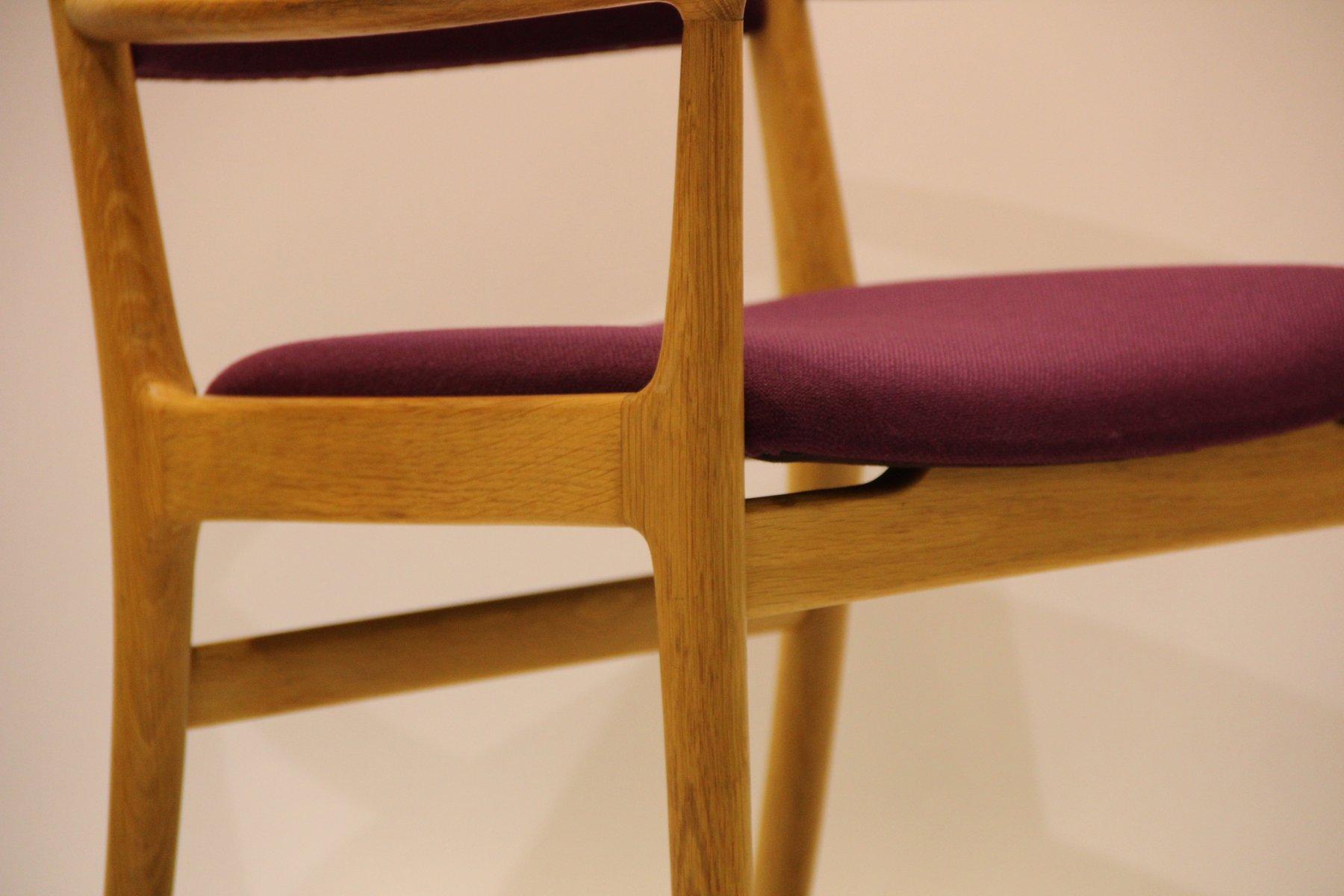 d nischer mid century stuhl aus eschenholz von kai lyngfeld larsen f r s ren wiladsen bei pamono. Black Bedroom Furniture Sets. Home Design Ideas