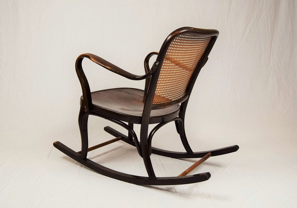 a752 rocking chair by josef frank for thonet 1930s for sale at pamono