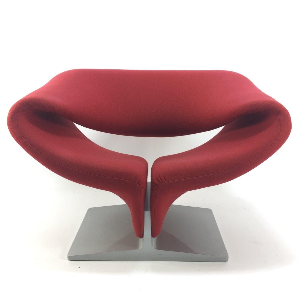 Vintage Ribbon Stuhl von Pierre Paulin für Artifort