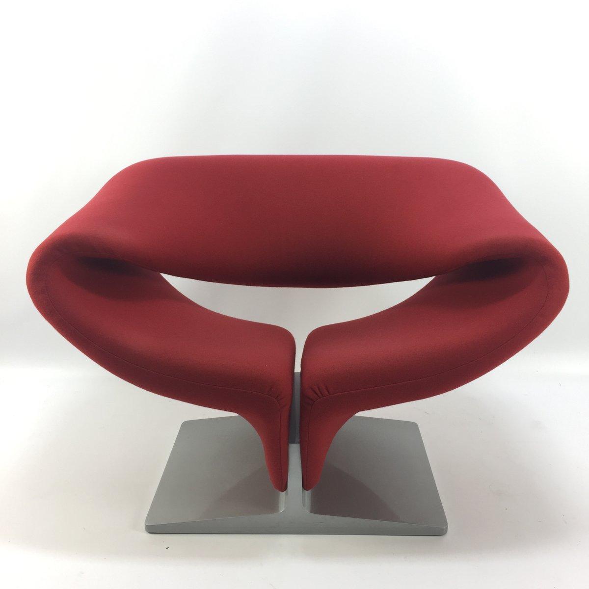 chaise ribbon vintage par pierre paulin pour artifort en vente sur pamono. Black Bedroom Furniture Sets. Home Design Ideas
