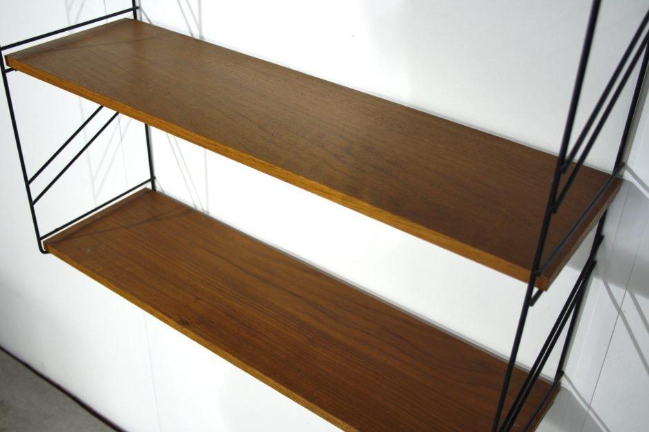 console murale vintage en bois en vente sur pamono. Black Bedroom Furniture Sets. Home Design Ideas