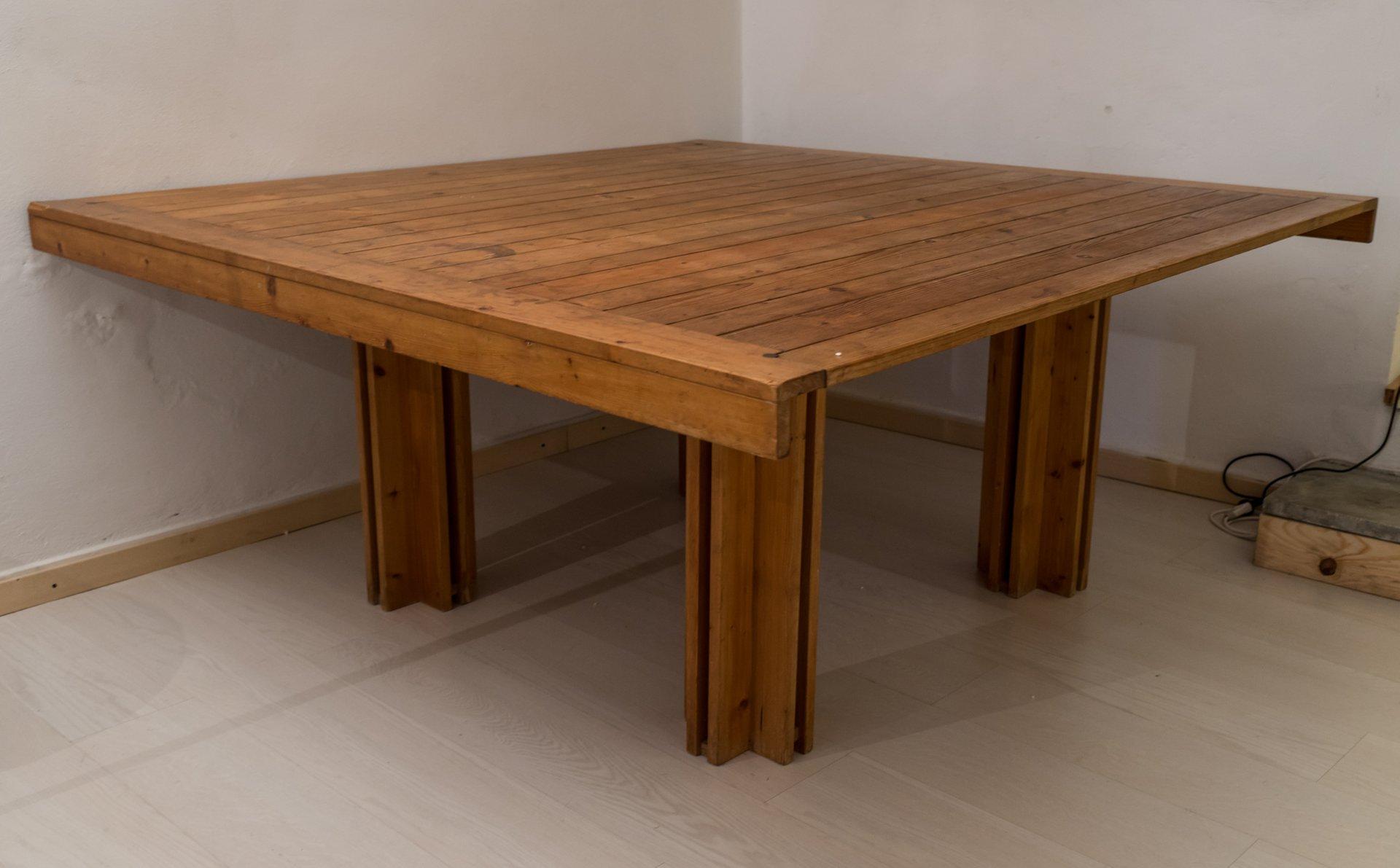 Rio Marin 142 Tisch von Carlo Scarpa für Gavina, 1974