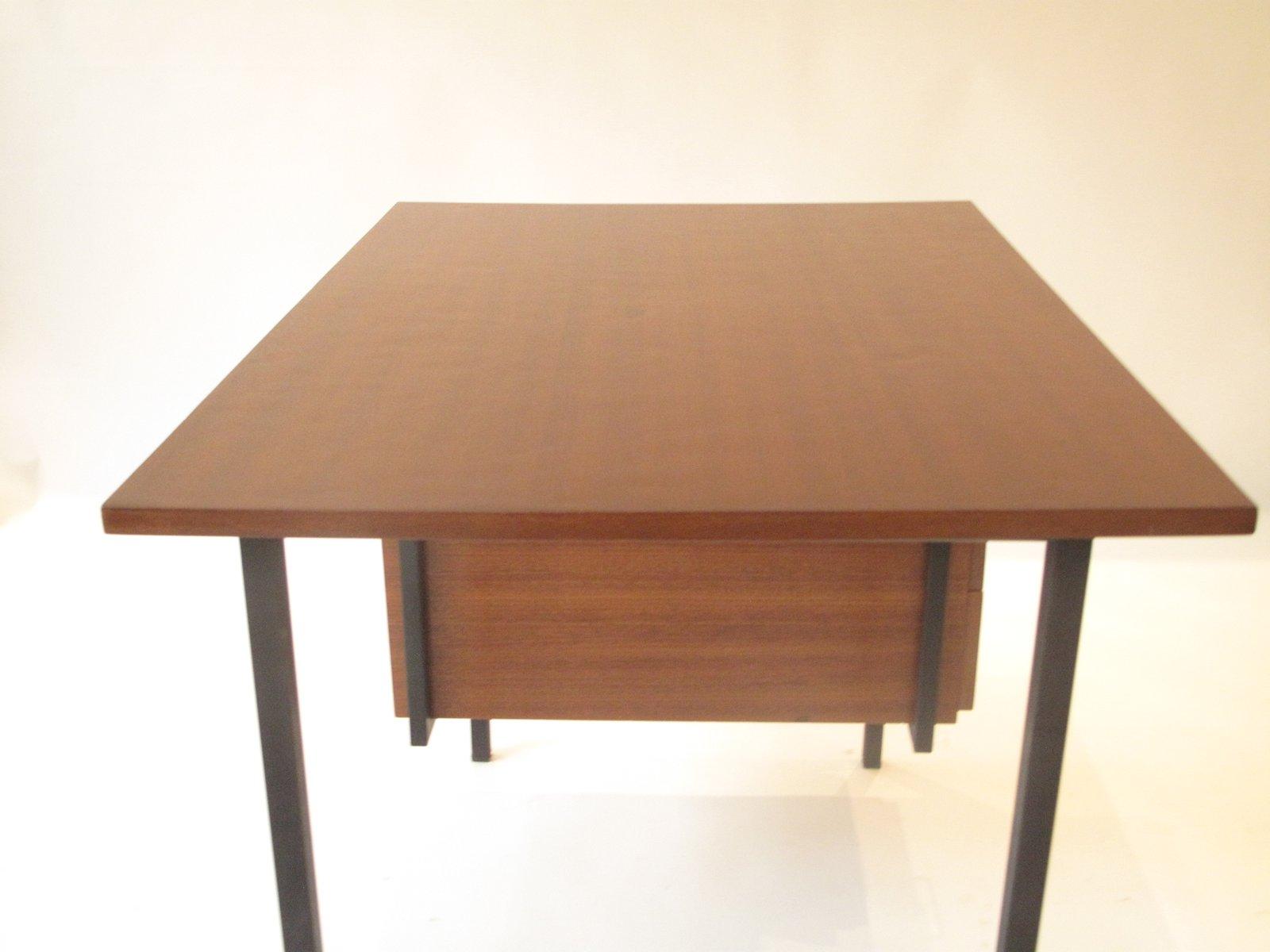Schreibtisch Holz Metall 2021
