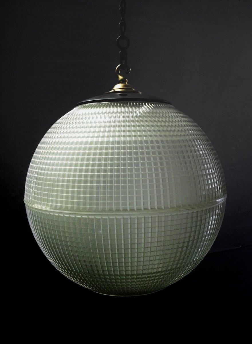 Große Pariser Straßenlampe von Holophane, 1950er