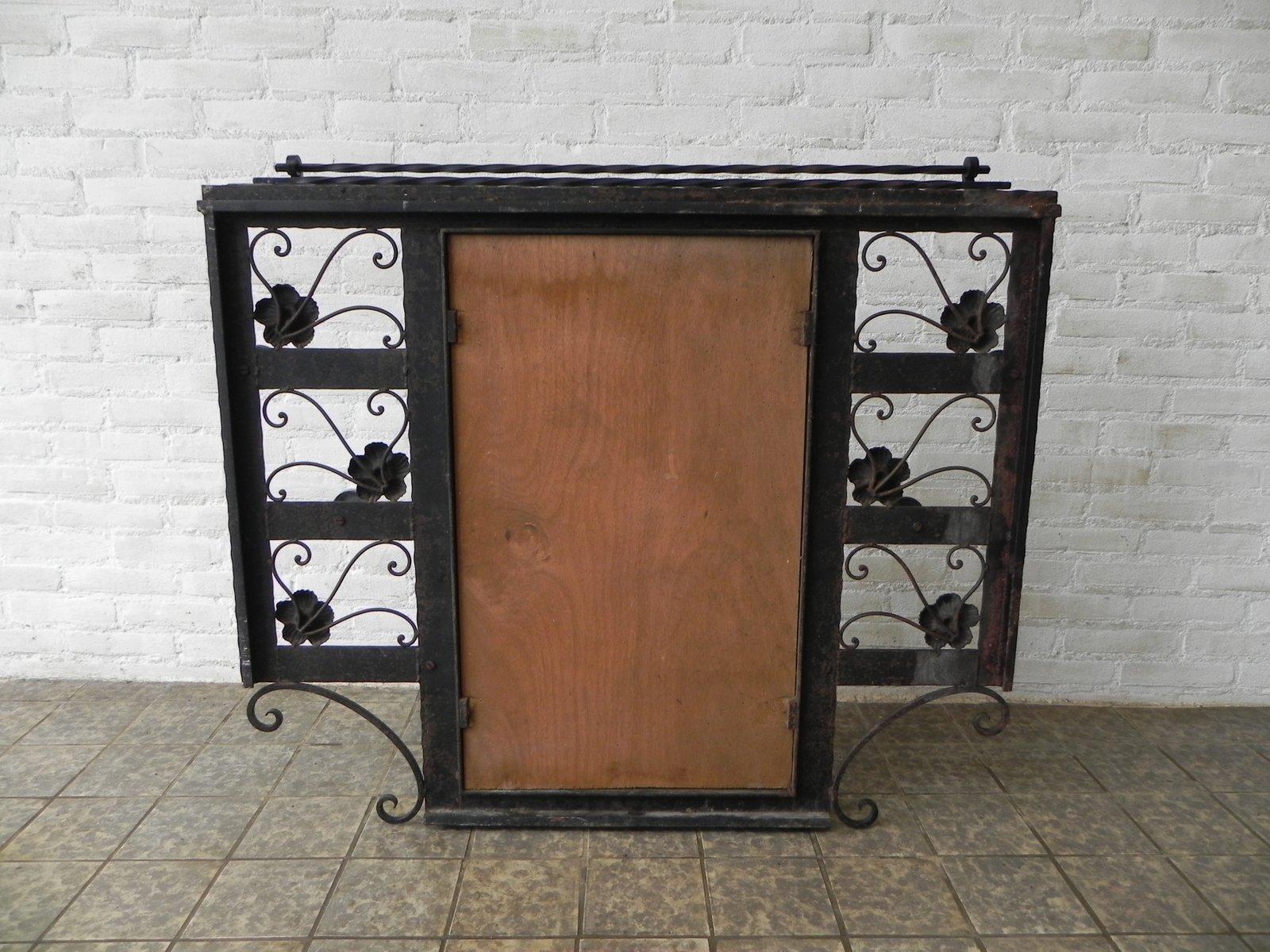 art deco garderobe mit spiegel 1930er bei pamono kaufen. Black Bedroom Furniture Sets. Home Design Ideas