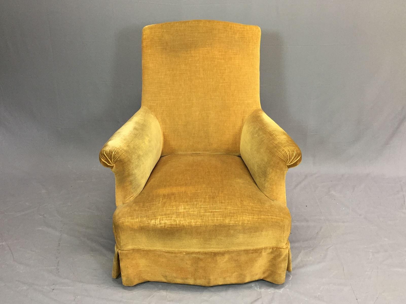 Merveilleux Antique Lounge Chair