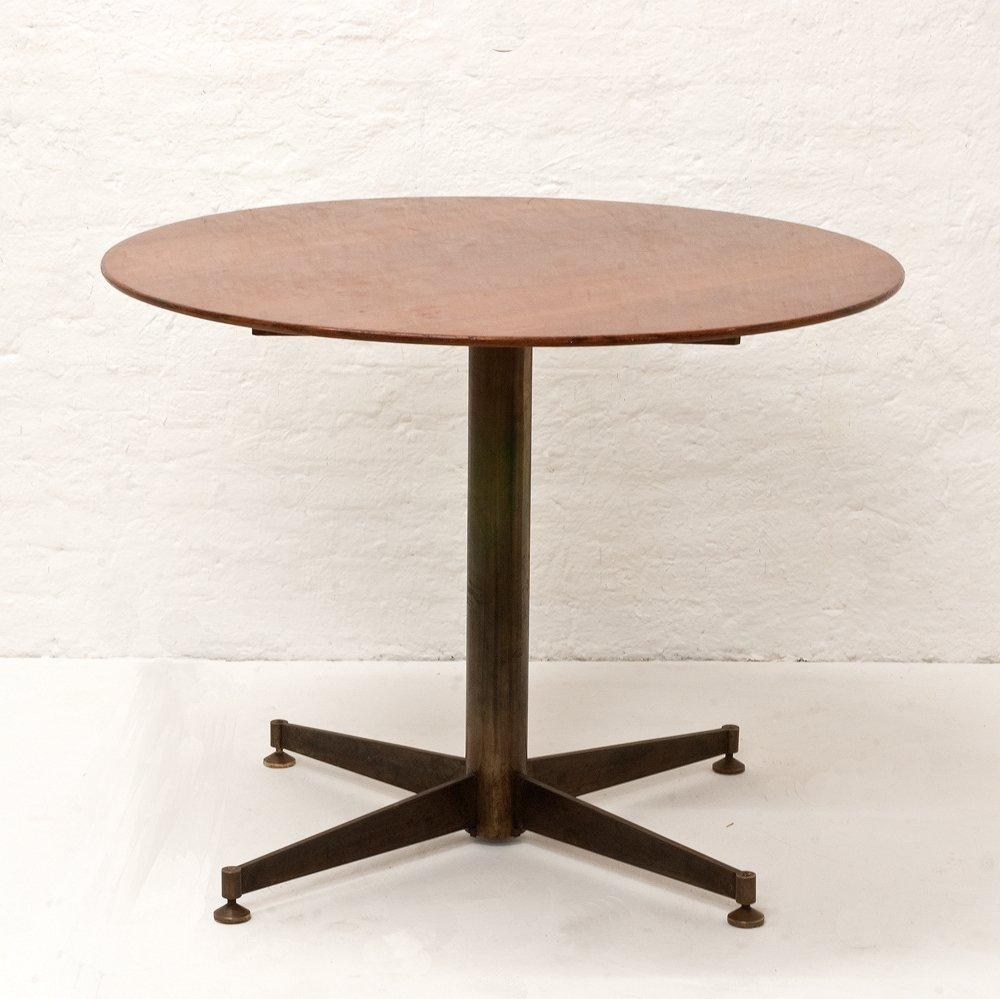 Tavolo da pranzo piccolo rotondo italia anni 39 50 in for Tavolo da pranzo piccolo