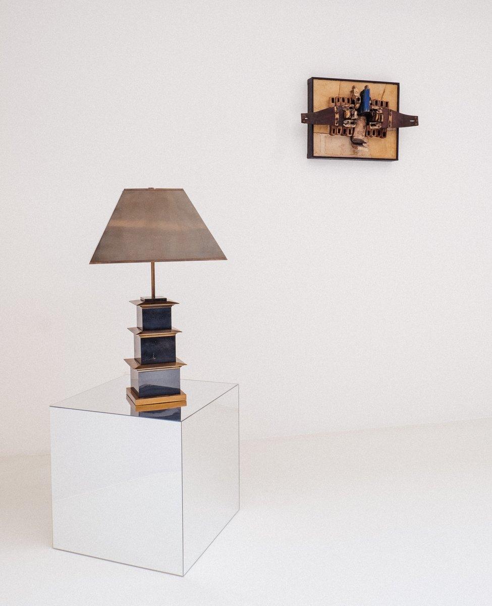 Mexico Tischlampe von Maison Charles, 1970er