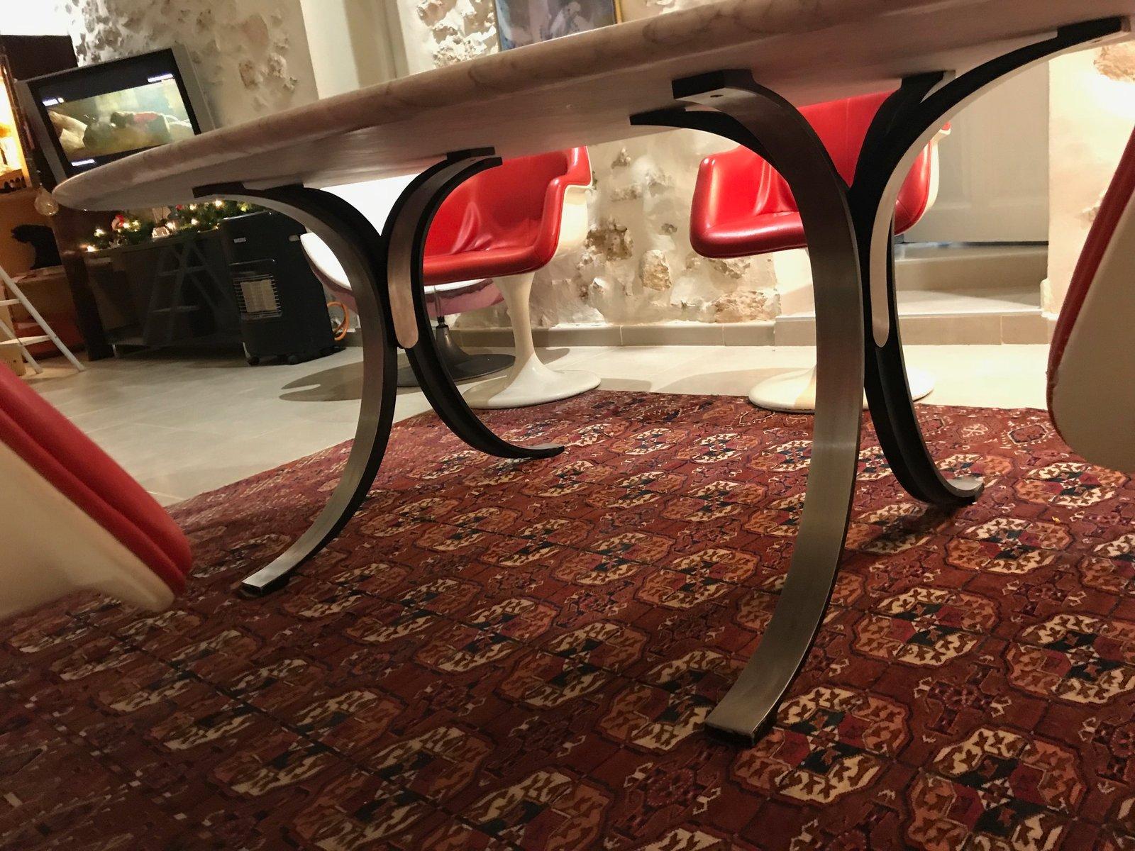 Tavolo da pranzo in marmo di carrara di osvaldo borsani for Marmo di carrara prezzo