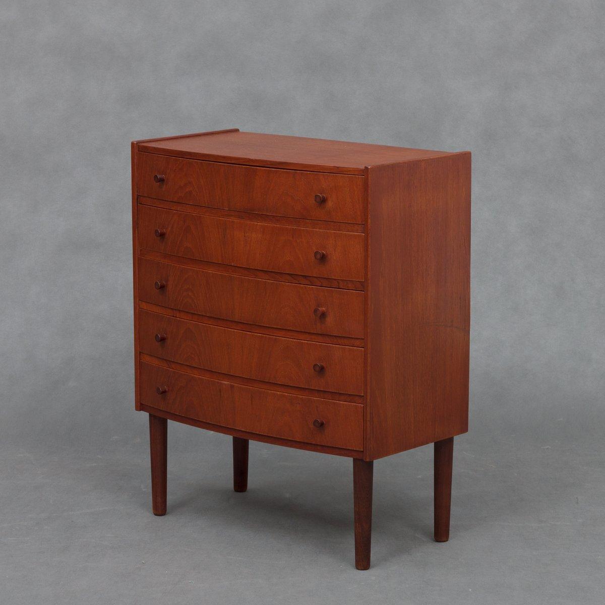 d nische mid century teak kommode 1960er bei pamono kaufen. Black Bedroom Furniture Sets. Home Design Ideas