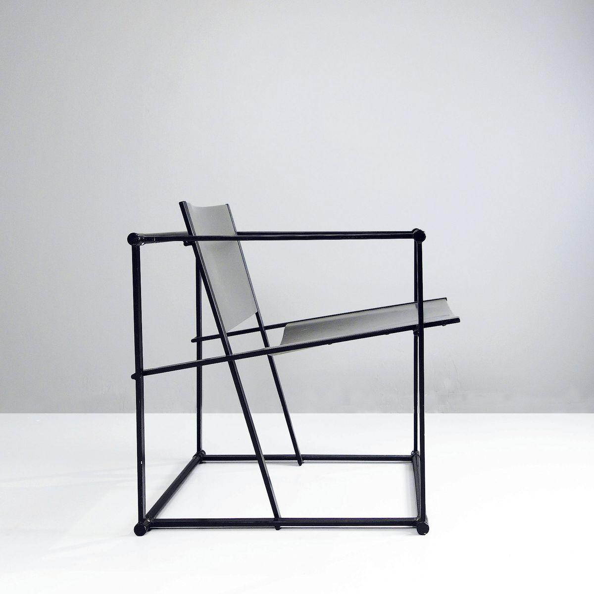 FM 60 Cube Stuhl von Radboud Van Beekum für Pastoe, 1980er