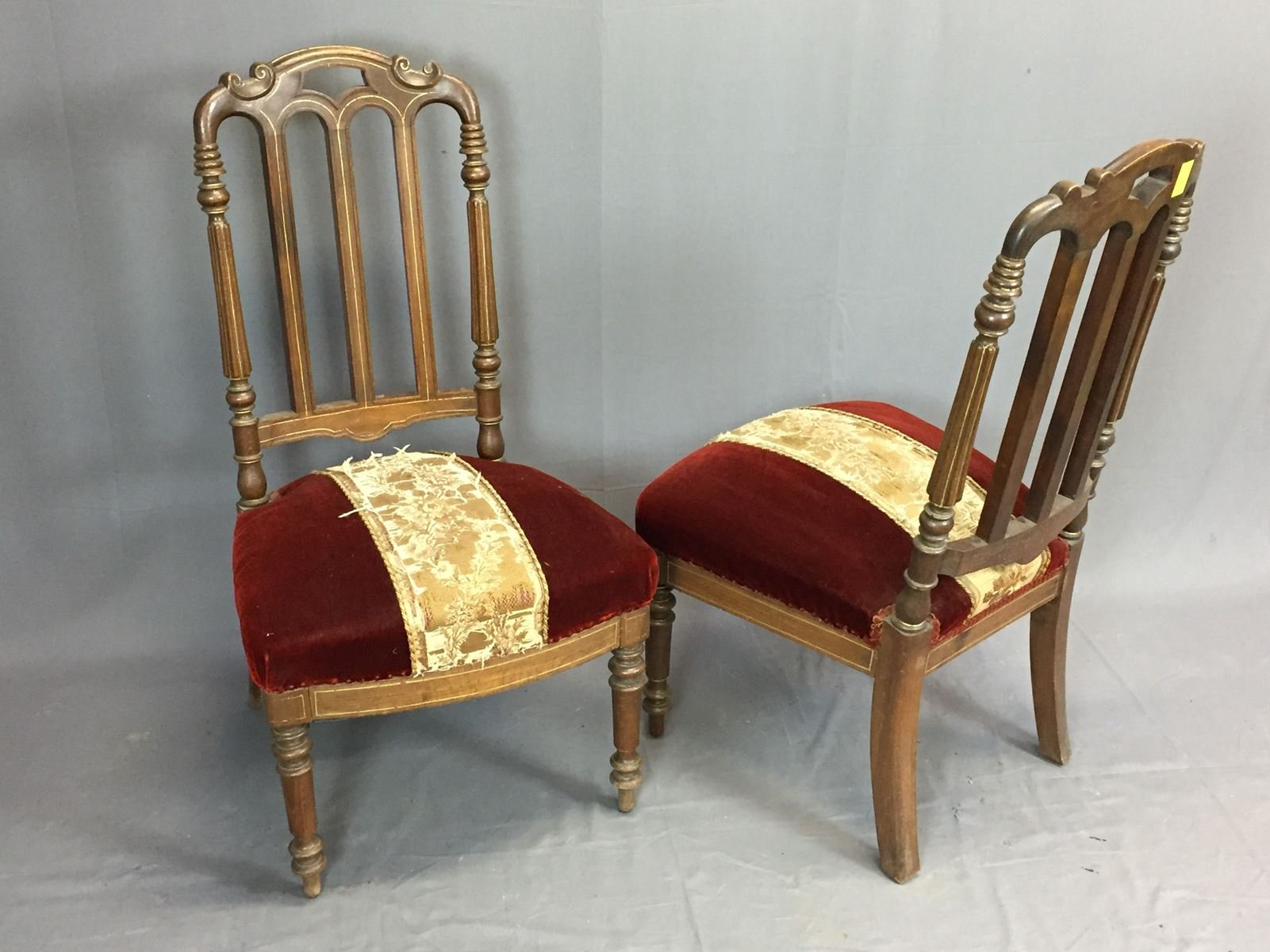 Antique Napoleon Iii Chairs Set Of 2 For Sale At Pamono