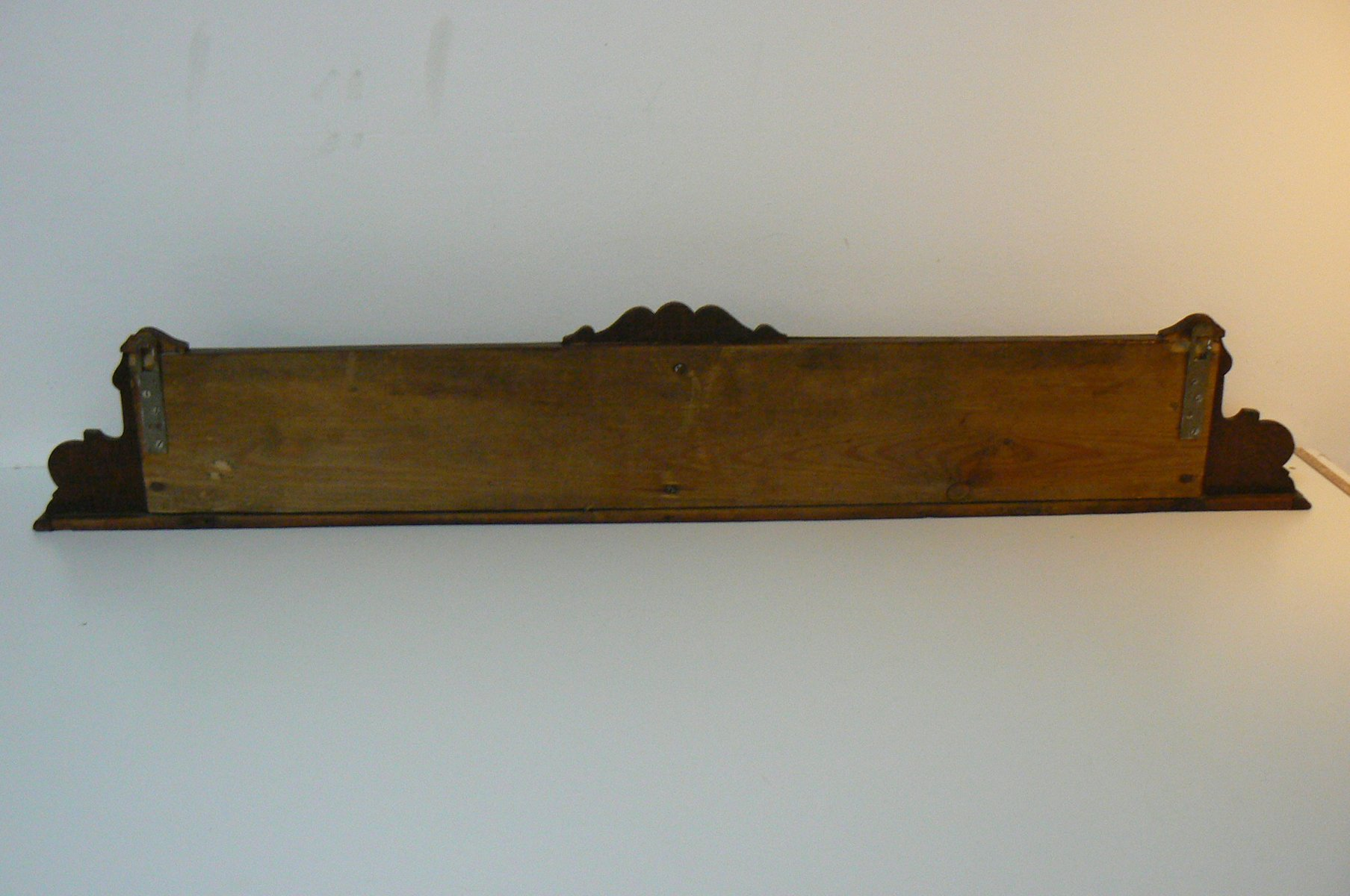 Antique German Wall Bookshelf For Sale At Pamono