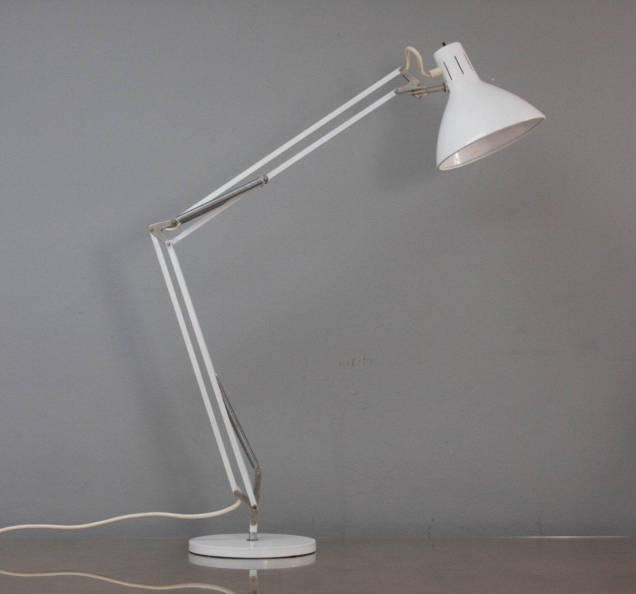 Modell Terry 2 Schreibtischlampe von H.Th.J.A. Busquet für Hala, 1950e...