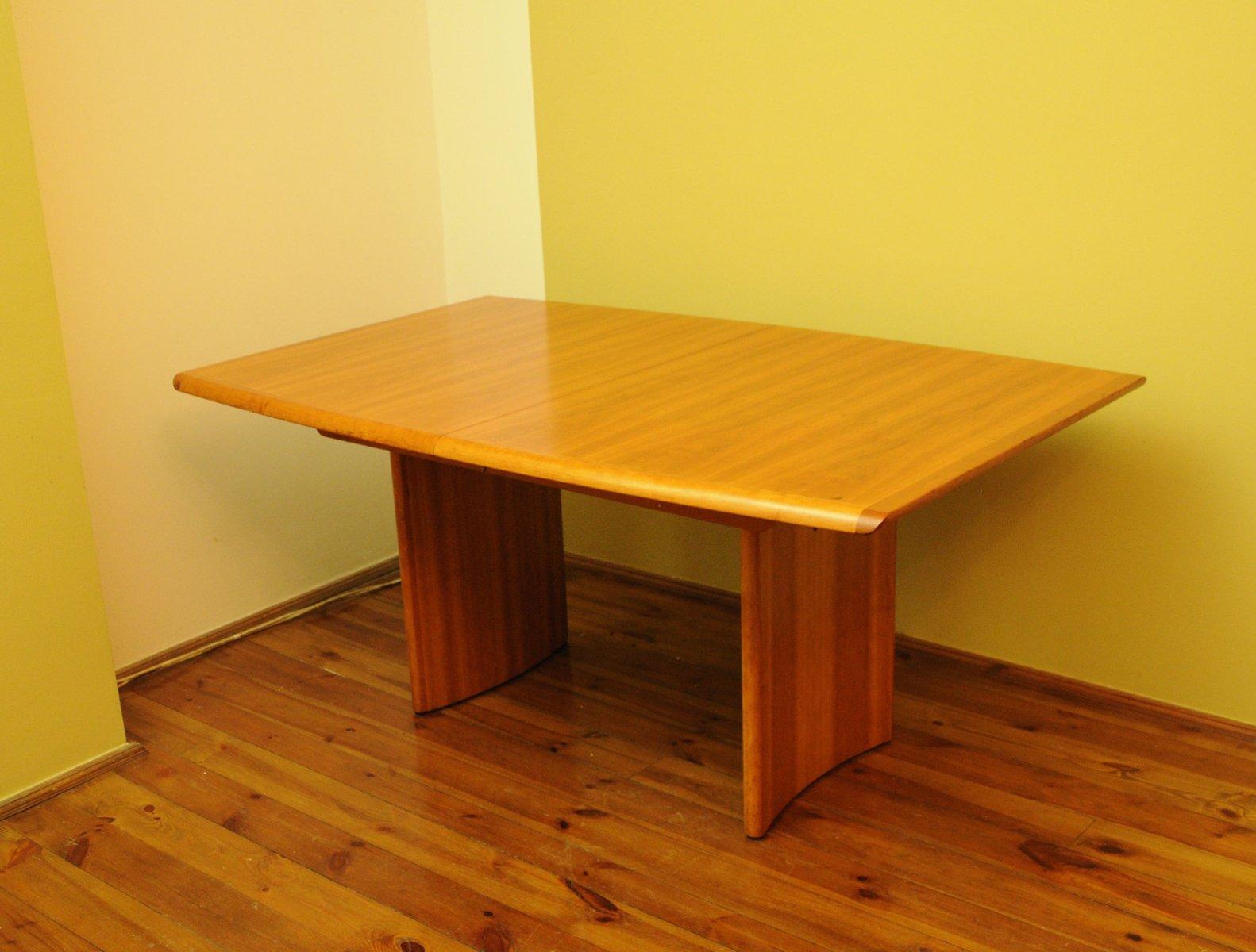 Large Vintage Teak Table From Vejle Stole Mobelfabrik