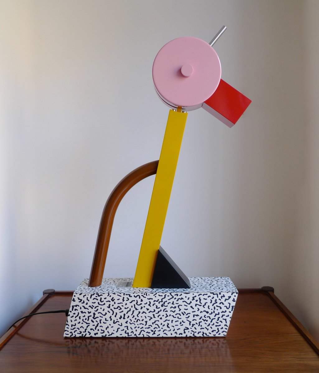 Tahiti Lampe von Ettore Sottsass für Memphis Group, 1981