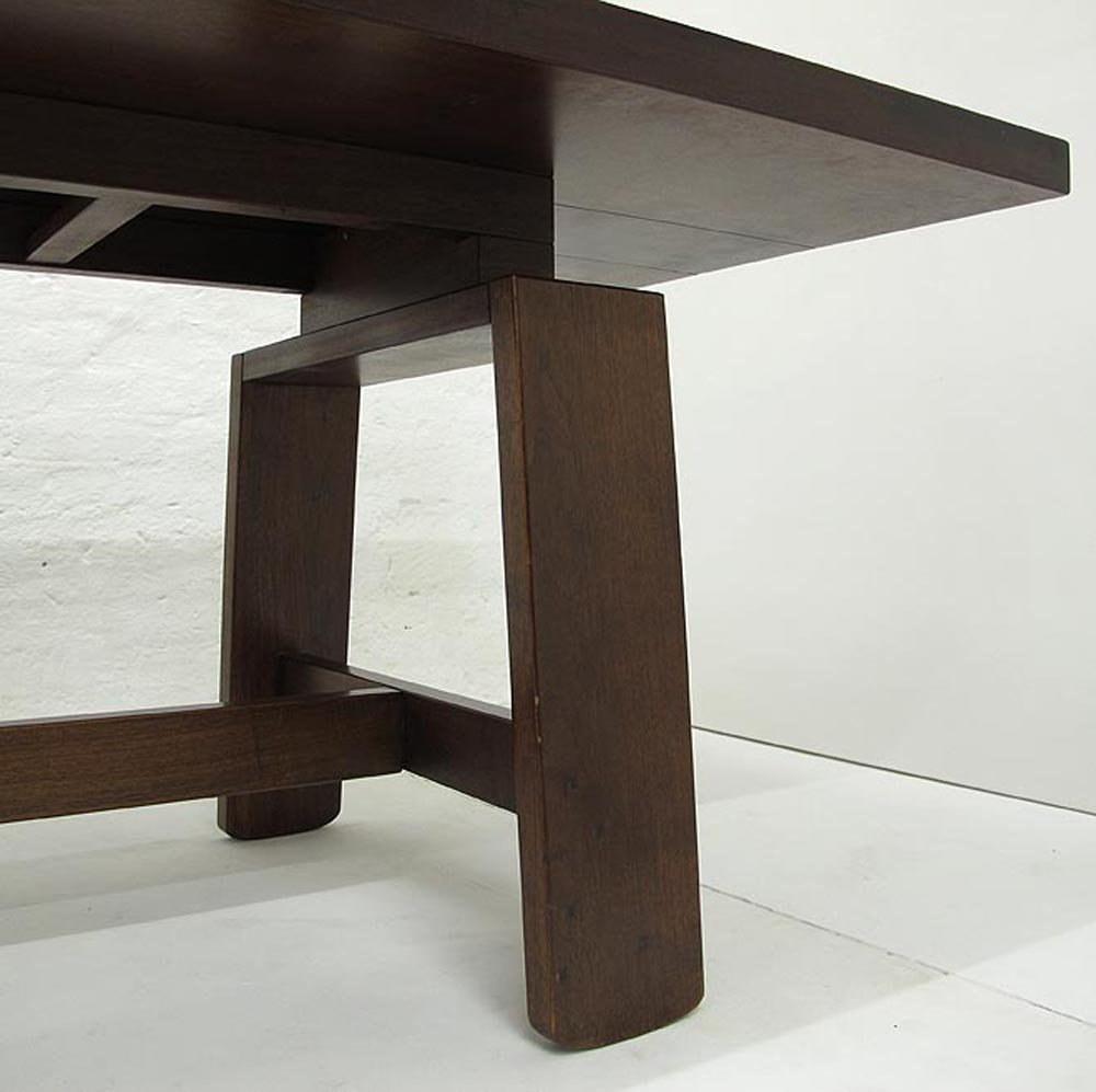 table de salle manger vintage par silvio coppola pour bernini 1964 en vente sur pamono. Black Bedroom Furniture Sets. Home Design Ideas