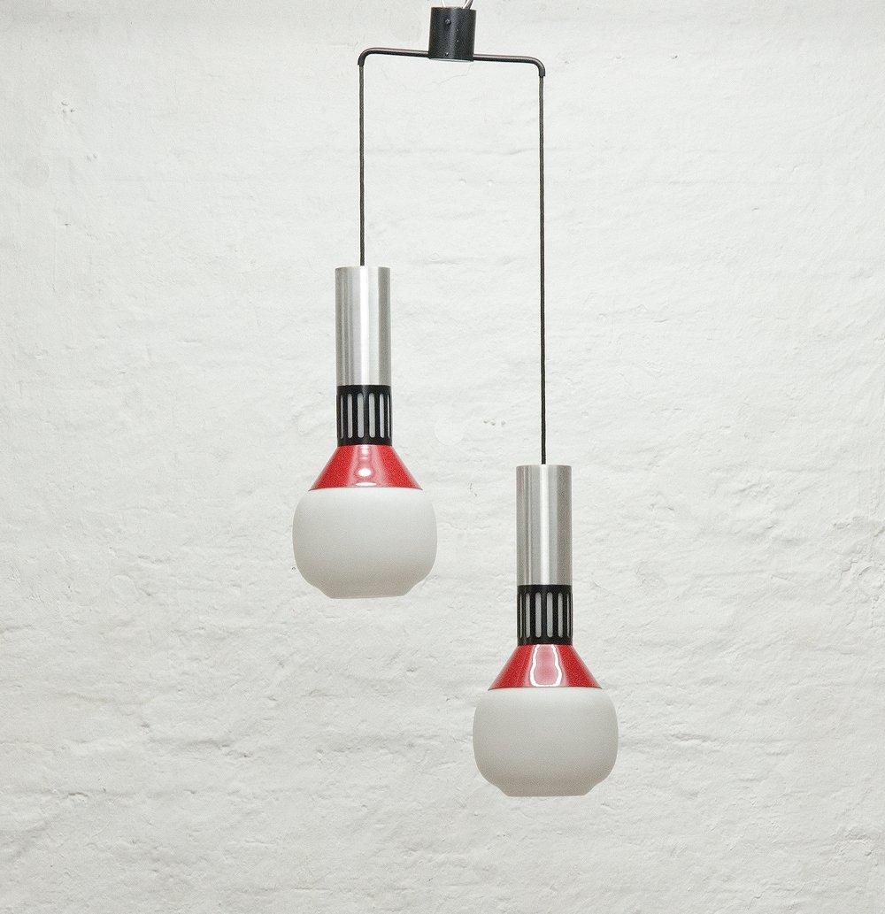 Modell 1247 Deckenlampe von Stilnovo, 1960er