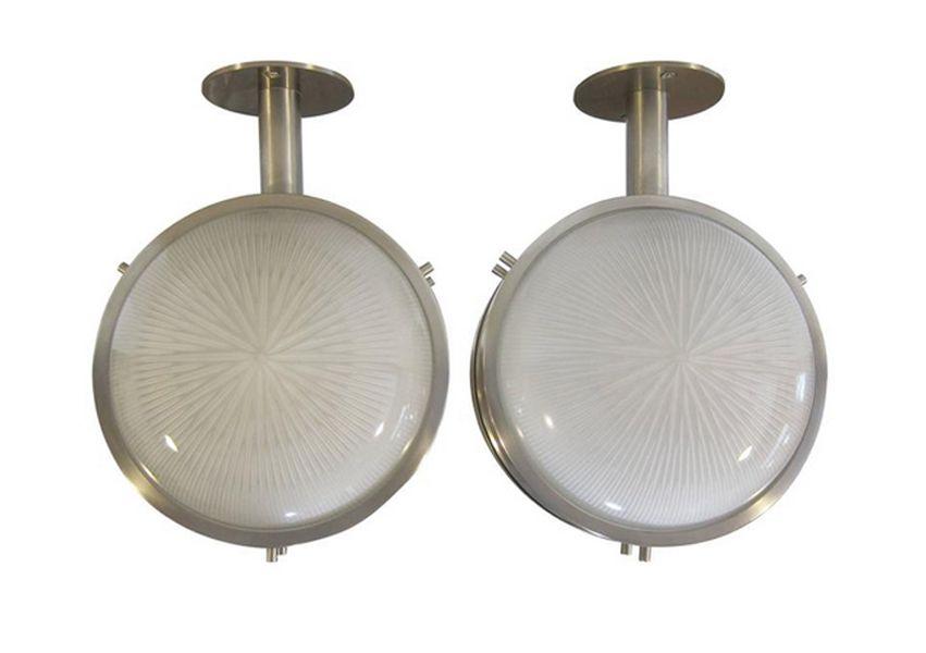 Deckenlampe n von Sergio Mazza für Artemide, 2er Set