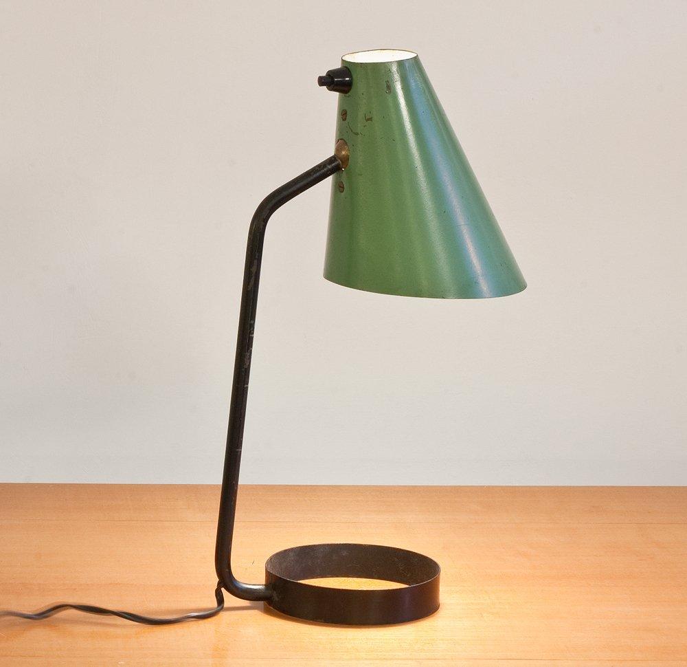 Lampe De Bureau Par Jacques Biny Pour Luminalite 1950