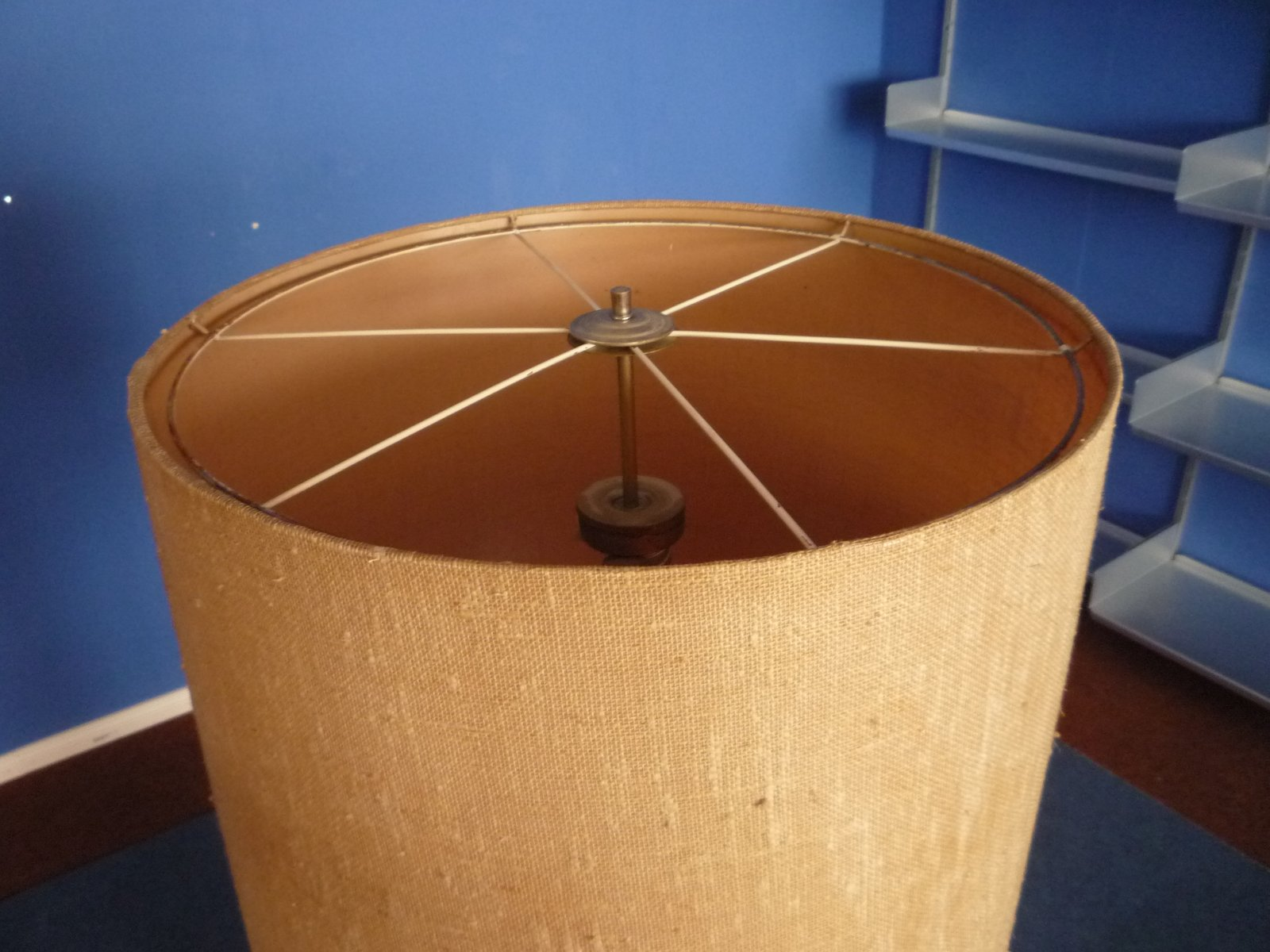 gro e keramik stehlampe 1960er bei pamono kaufen. Black Bedroom Furniture Sets. Home Design Ideas