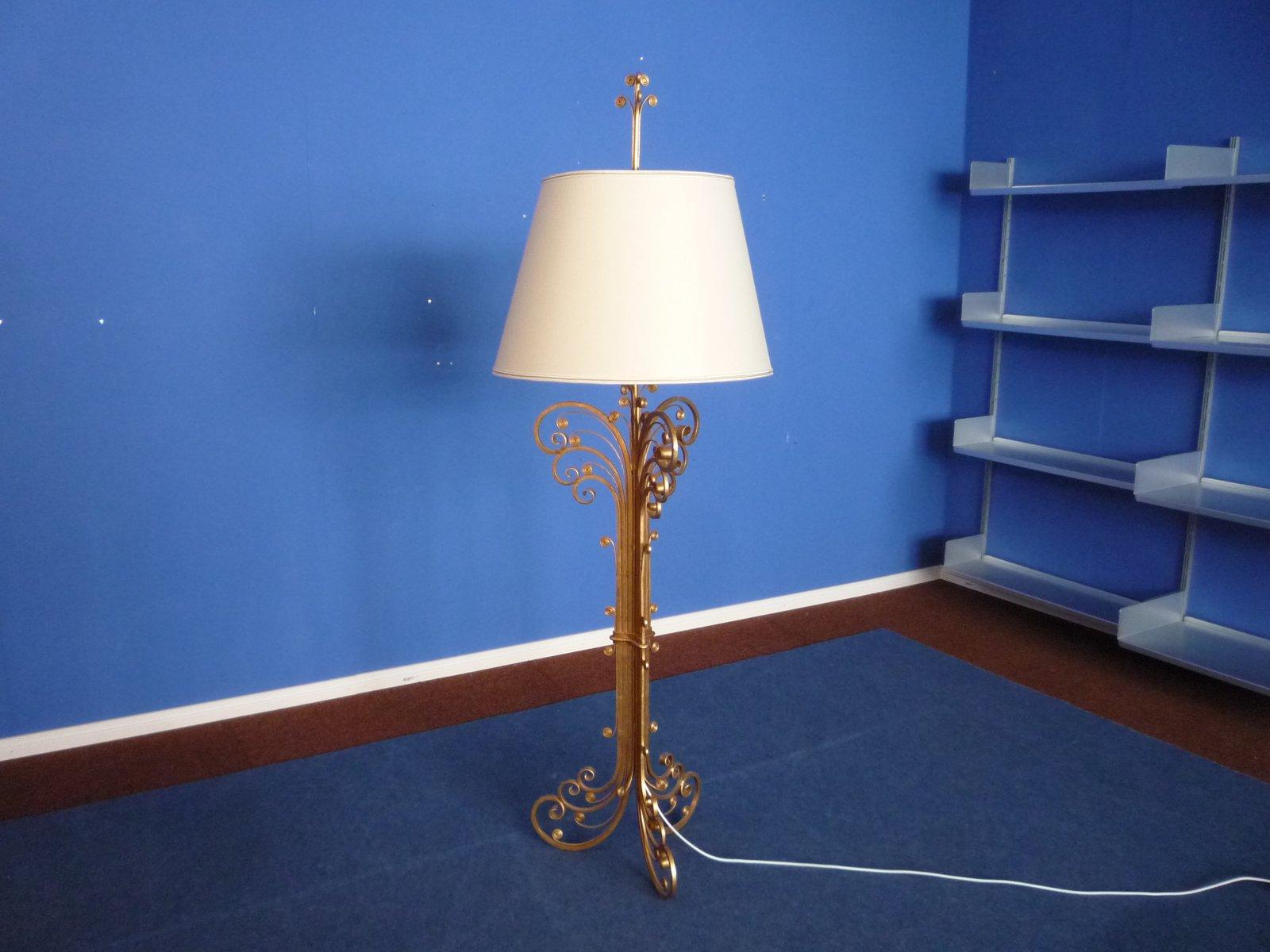 Stehlampe von Maison Charles für Maison Bagues, 1960er